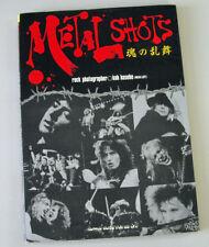 Japan Photo-Book METAL SHOTS Ritchie Blackmore, Ian Gillan, Van Halen, KISS more