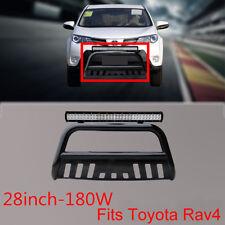 "Nudge Bar for Toyota Rav4 3"" Black 2006-2012+180w Cree LED Light Bar+Wiring kit"