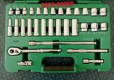 SATA 09059 31pcs 3/8'' Dr. 6pt Socket Set