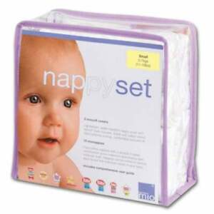 Bambino Mio Miosolo Reusable Nappy Set SIZE Small 5 -7 KGS New Damaged Packaging