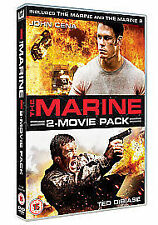 The Marine / The Marine 2 - 2010 DVD BUNDLE 2 DISC SET WWE JOHN CENA TED DIBIASE