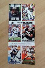 NFL Pro Set cards uncut 1991 'No.5 The Defensive Collection'