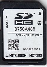 MITSUBISHI MMCS SD Karte Navigation SAT NAV Version 2017 Europe 8750A488