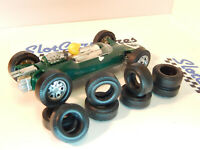 16 urethan back tyres slot car F2 Junior SCALEXTRIC UK