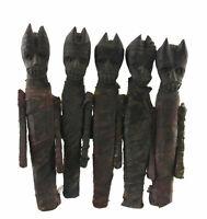 Antica Figura Tribale Bambole Di Marionette IN Legno Sciamano-Nepal 3979
