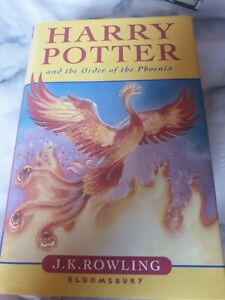 Harry potter and the order of the phoenix 1st edition book