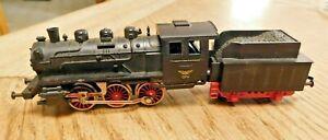 Fleischmann HO 1704 - 0-6-0 Vintage Steam Locomotive with Tender - DC Analog