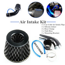 "Car Aluminum Alloy Air Intake Kit Pipe Diameter 3""+Cold Air Intake Filter+Clamp"