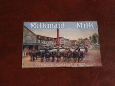 ORIGINAL TUCK ADVERTISING POSTER POSTCARD - MILKMAID BRAND MILK - No. 1504.