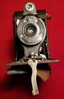 Kodak No. 2 Folding Hawk-eye Model B Kodex #0 Shutter Anastigmat Kodeye lens EXC