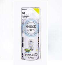2 Stück H7 Xenon Optik weiss mit 4400K +30% 12V 55 W Halogen Lampen Glühbirnen