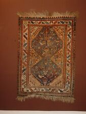 Wonderful Antique Full Pile Luri Kaskay Rug *Hg*