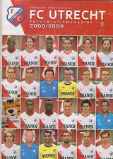 Presentatiegids / presentationguide / Magazine FC Utrecht 2008-2009