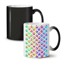 Rasta Psychedelic Weed NEW Colour Changing Tea Coffee Mug 11 oz | Wellcoda