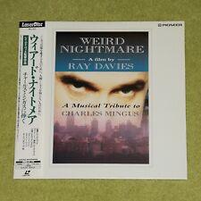 WEIRD NIGHTMARE A Film By Ray Davies [The Kinks] RARE 1993 JAPAN LASERDISC + OBI
