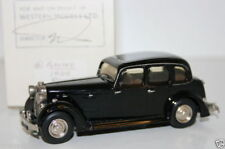 WESTERN MODELS MIKE STEPHENS 1st PROTOTYPE - PLUMBIES - HORCH 830 - BLACK