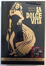 Federico Fellini LA DOLCE VITA Deluxe Edition (DVD, 2005) Anita Ekberg [NEW]