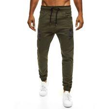 Pantalones de hombre chinos color principal verde 100% algodón