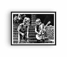 Randy Rhoads Ozzy Osbourne Canvas Poster Print Diary of A Madman Tour 24x36