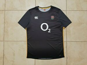 England Training Rugby Union Shirt 2017 Jesey XL Canterbury