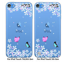 For Apple iPod Touch 7th/6th/5th Gen Anti-scratch Shockproof Soft TPU Case Cover