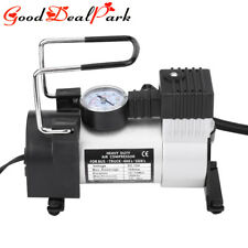 Auto Tire Inflator Car Motorcycles Tyre Air Compressor Pump Tool Kit 12V 100PSI