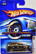 Hot Wheels 2006 First Editions '07 Cadillac Escalade #034 Black Factory Sealed