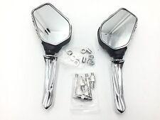 Claw Skeleton Hand Mirror For Honda Cb Cbr Rebel Shadow Mangna Vt Vtx 1300 1800
