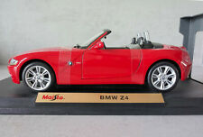 MAISTO 1:18 BMW Z4. German Sportscar. Near Mint. Original Packing.