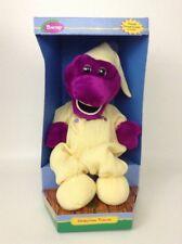 Vintage 1998 Sleepy Time Friends Barney the Dinosaur Poseable w/ package cradle