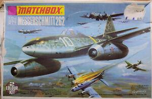 MAQUETTE AVION MESSERSCHMITT 262 MATCHBOX PK-21 (Vintage 1973) 1/72