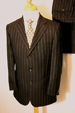 Burberry Woolen Single Breasted Suits for Men