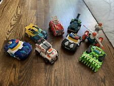 Gently Used Transformer Rescue Bots Lot (8)