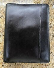 Vintage Day Runner Classic Edition Black Faux Leather Organizerplanner Inserts