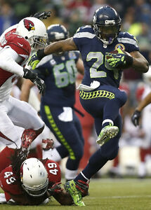 {24 inches X 36 inches} Marshawn Lynch Poster #4 - Free Shipping!