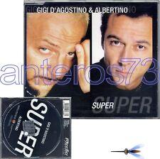 "GIGI D'AGOSTINO & ALBERTINO ""SUPER"" RARE CDM ITALO DANCE - MINT"