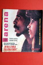 IKE & TINA TURNER ON COVER 1974 RARE EXYU MAGAZINE