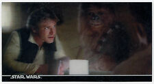 STAR WARS 3Di CARD 17 MEET HAN SOLO AND CHEWIE! 1996 Topps Widevision