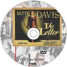 The Letter -Bette Davis, Herbert Marshall Film Movie on DVD 1940