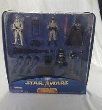 Star Wars Saga Imperial Forces Vader Stormtrooper At-ST Driver R4-19