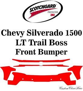 3M Scotchgard Paint Protection 2019 2020 2021 Chevy Silverado 1500 LT Trail Boss