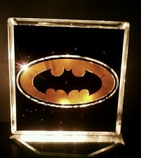 Customized Batman Glass Block Light~ Home Decor~Gift~Lamp