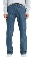 Levi's Mens Jeans Blue Size 36x30 511-Slim Fit Pinstripe Stretch Denim $69 398