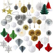 LUXURY HANGING WEDDING/PARTY/CHRISTMAS DECORATIONS - Modern/Large/Festive/Classy