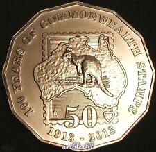 ** 2013 Australian Centenary of Australian Stamps 50cent  Specimen Quality**