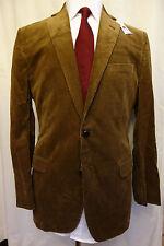 NWT Brooks Brothers 1818 Fitzgerald Brown Corduroy Sport Coat Retail $448