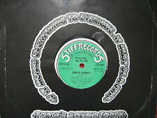 "Dirty Looks ‎– 6 Track Promo Stiff Records ‎– SMUT 1 Vinyl, 10"", 33 ⅓ RPM"