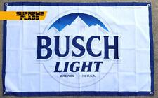 Busch Light Flag 3x5 ft Banner Bud Light Beer Man Cave Bar