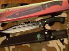 Fixed Blade Knife Hunting Camping Survival Bushcraft