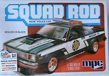 MPC Squad Rod Nova Police Car, 1/25, New (2016), Factory Sealed Box